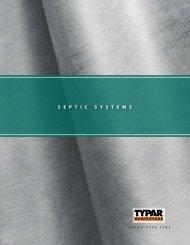 sePtIC sYsteMs - Fiberweb - TYPAR Geotextiles
