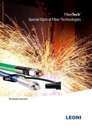 FiberTech® Special Optical Fiber Technologies - LEONI Business ...