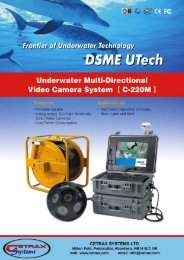 Video Camera System [ O-220M ] - Cetrax Systems Ltd.