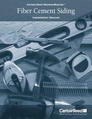Installation Manual - CertainTeed
