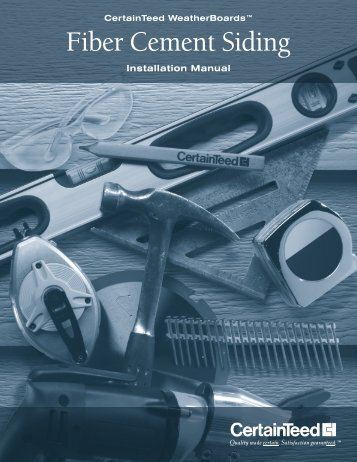 Installation Manual - CertainTeed