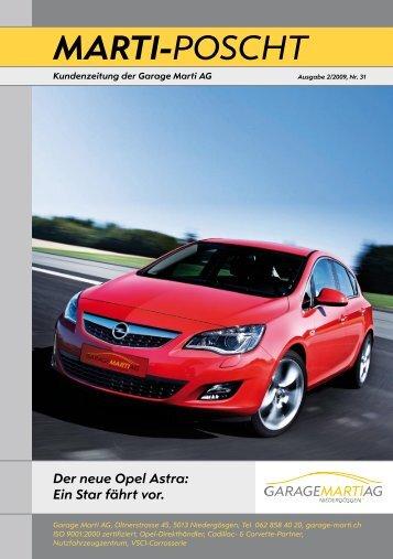 Opel Meriva! - Garage Marti AG