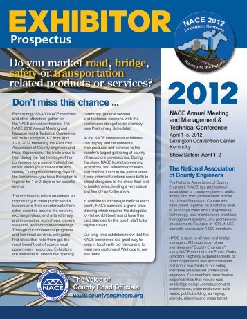Prospectus - National Association of County Engineers