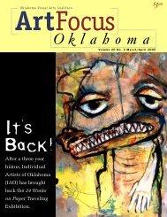 It's Back! - Oklahoma Visual Arts Coalition