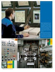 Andritz Annual Report 2007 - The ANDRITZ business areas at a ...