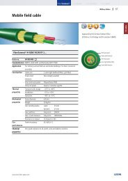 Fiber Optics - FELTEN Wire and Cable Solutions