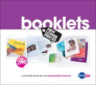 Booklets Insert