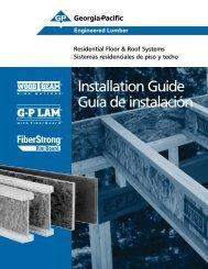 Residential Floor & Roof Systems Installation Guide - Sistemas ...