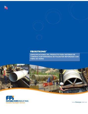 especificaciones del producto para sistemas de tuberias ... - conhsiba