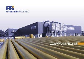 FPI Corporate Brochure - Future Pipe Industries