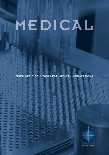 fiber optic solutions for medical applications - Diamond SA