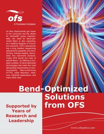 Bend-Optimized Solutions from OFS (564.8 KB)