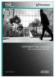 SYSTIMAX®Fiber Solutions Beat The Bandwidth Bottleneck
