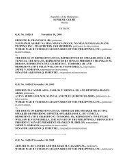 Republic of the Philippines SUPREME COURT Manila ... - Columba.us