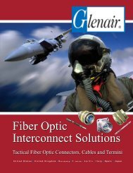Fiber Optic Interconnect Solutions - Pan Pacific Electronics