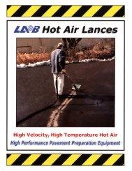 Hot Air Lances Flyer - Welborn Sales, Inc.