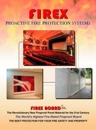 FIREX BOARD - Manitoba Green Building Products Directory