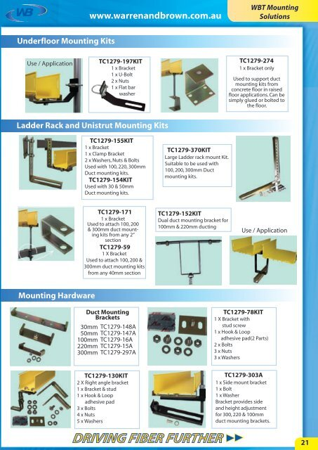 WBT Introduction Mounting