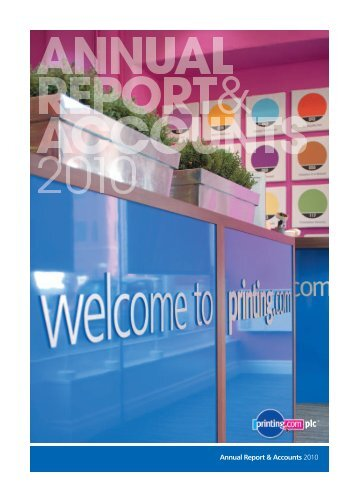 Annual Report 2010 Cover on Spreads