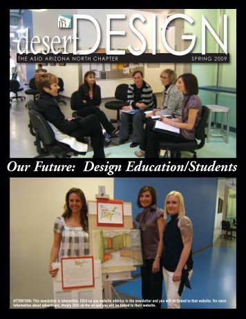 Our Future: Design Education/Students - ASID Arizona North Chapter