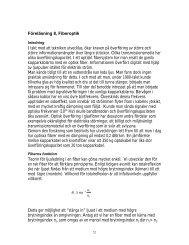 Föreläsning 8, Fiberoptik - Laser Physics, KTH