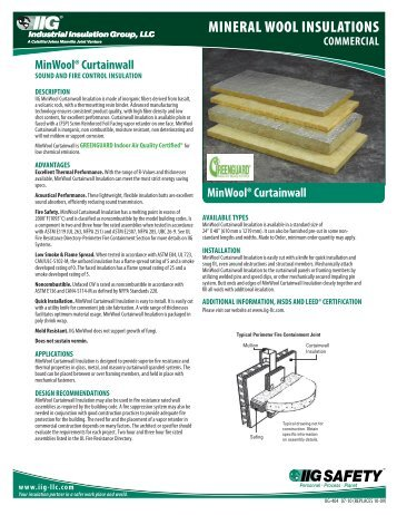 2 contents introductory n for Mineral wool insulation health and safety