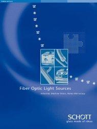 Fiber Optic Light Sources - SCHOTT North America