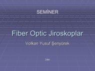 Fiber optik jiroskoplar