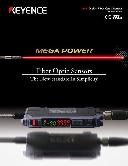 2000 NEW Keyence FU-67TG Digital Fibre Optic Sensor