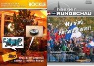 haager RUNDSCHAU - ÖVP Haag - Volkspartei Niederösterreich