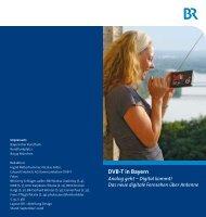 Fragen und Antworten zu DVB-T ... - DVB-T-Bayern
