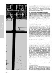 Sozialtherapie am Ende? - Forum Recht
