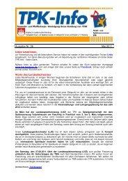 Ausgabe Nr. 36 Mai 2011 Liebe LeserInnen, Worte ... - TPK Hamburg