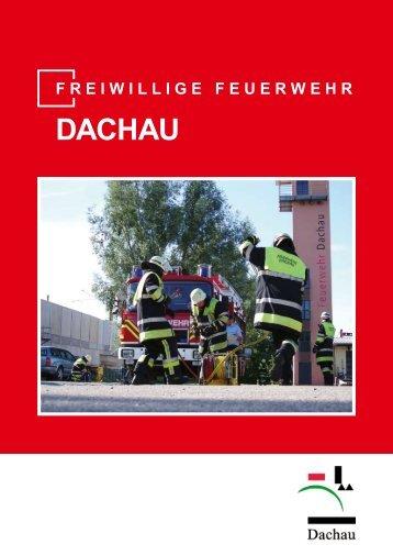 Infobroschüre der Feuerwehr Dachau