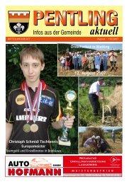 12. August 2007 - Pentling aktuell