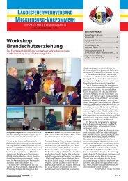 Workshop Brandschutzerziehung - Feuerwehr