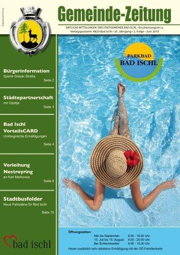 Gemeinde-Zeitung - Bad Ischl