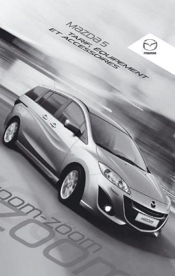 Mazda 5 - Garage du Rallye Cornol SA