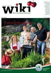 Sommerkollektion - Wirtschaftsregion Waldviertler Kernland