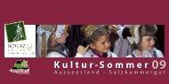 Kultur-Sommer - Ausseerland Salzkammergut