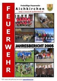 F E U E R W E H R - FF-Aichkirchen