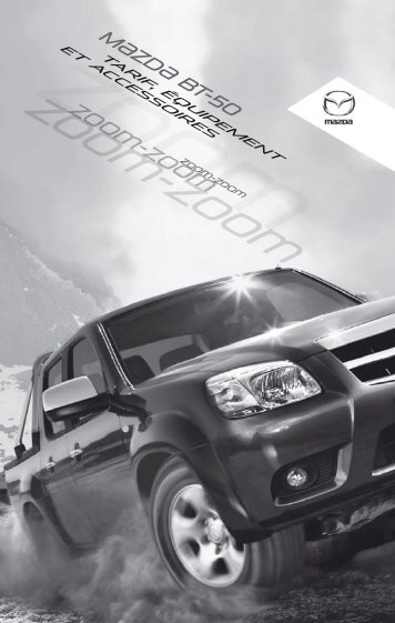 Mazda BT-50 - Garage du Rallye Cornol SA