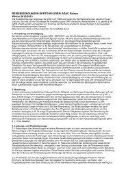 REISEBEDINGUNGEN DERTOUR/ XDER/ ADAC ... - traffics-tibet2.de