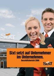 Geschäftsbericht 2008 - Sixt AG