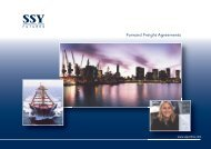 Forward Freight Agreements - Simpson Spence & Young