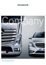 The Group 2012. - Daimler