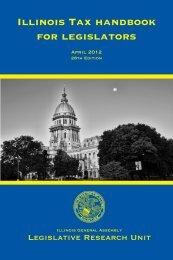 Illinois Tax handbook for legislators - Illinois General Assembly