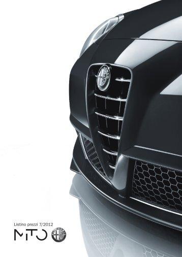 Listino prezzi 7/2012 - Garage Touring Vezia