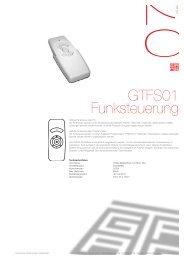 Gtfs01funksteuerung - Gasser Technik Ag