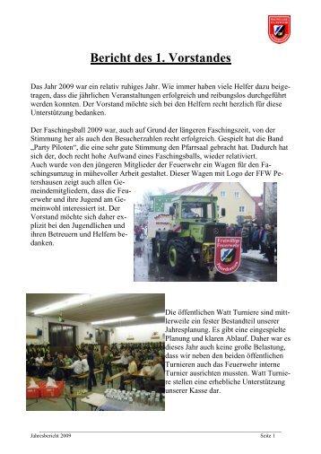 Lehrgang - Freiwillige Feuerwehr Petershausen
